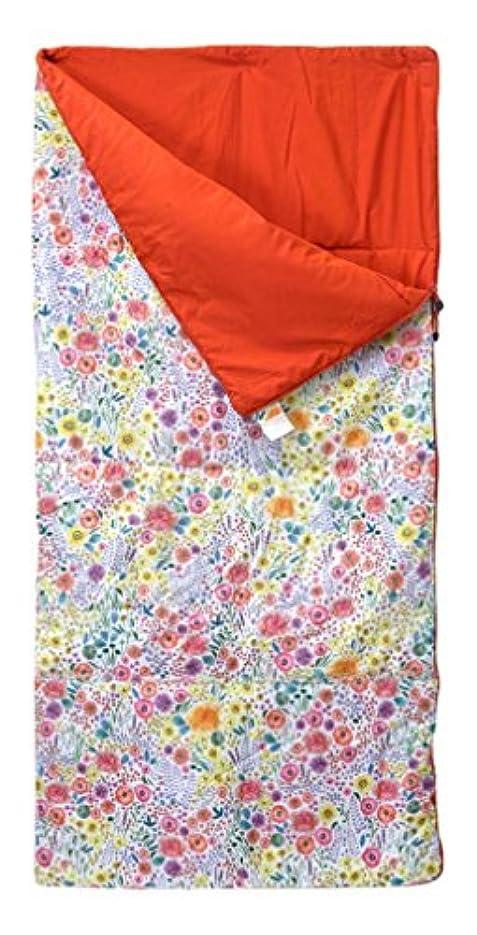 スチール高齢者タイプSPICE(スパイス) 寝袋 キッズシュラフ FLOWER [使用可能温度5度] HAKZ2070