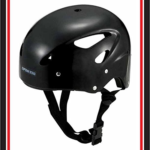 キャプテンスタッグ スポーツ ヘルメット CS ブラックMC-3548