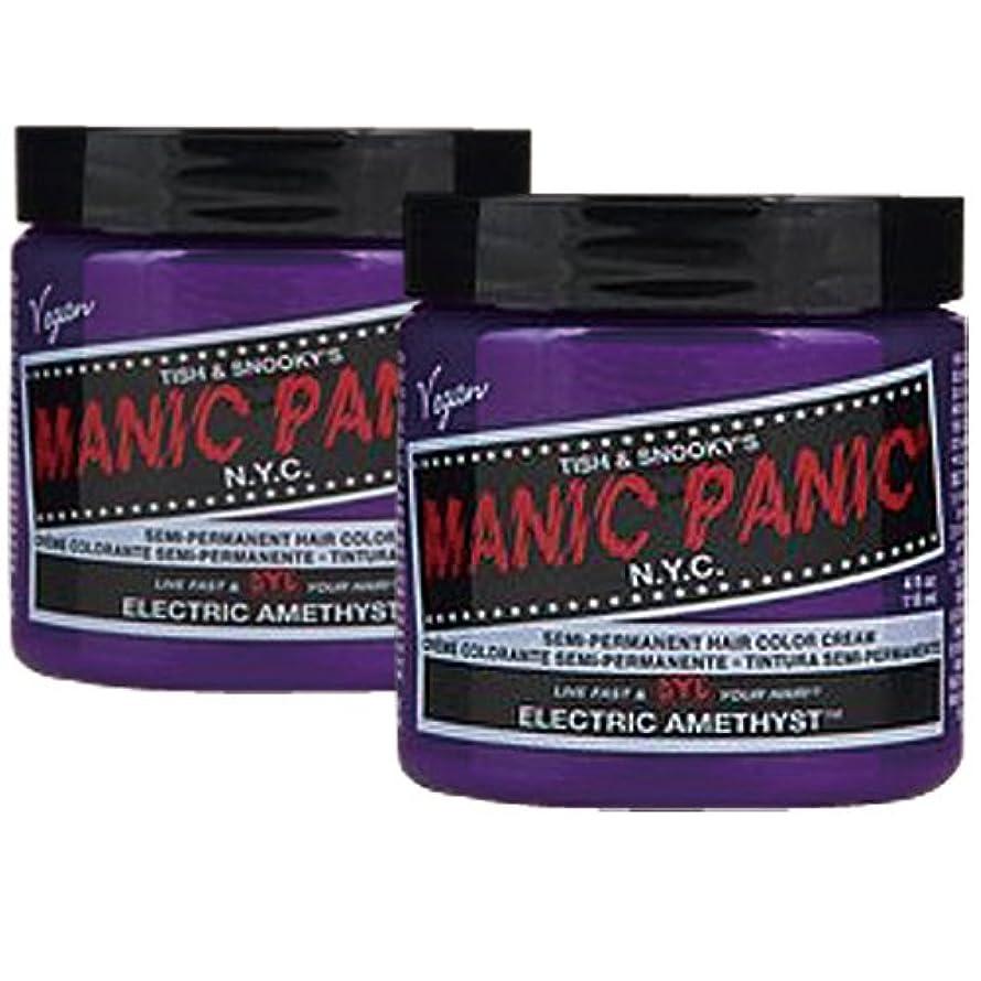 怒り成長する分析する【2個セット】MANIC PANIC マニックパニック Electric amethyst エレクトリックアメジスト 118m