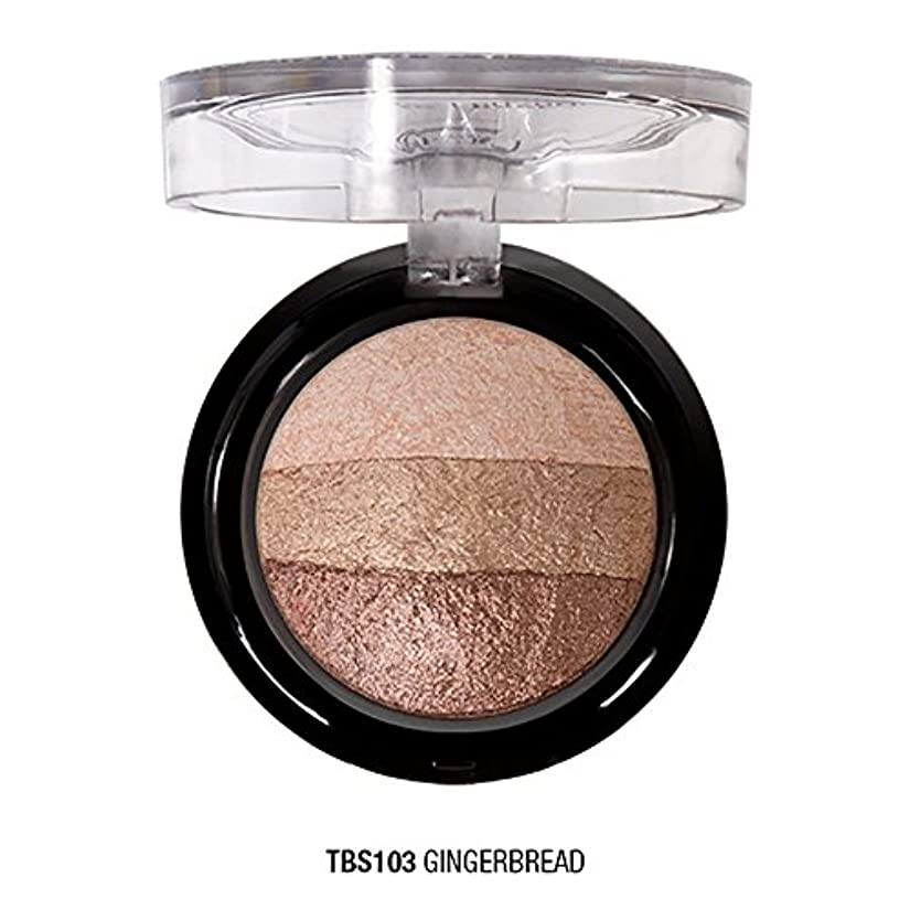 インタビュー使役酔ったJ. CAT BEAUTY Triple Crown Baked Shadow - Gingerbread (並行輸入品)