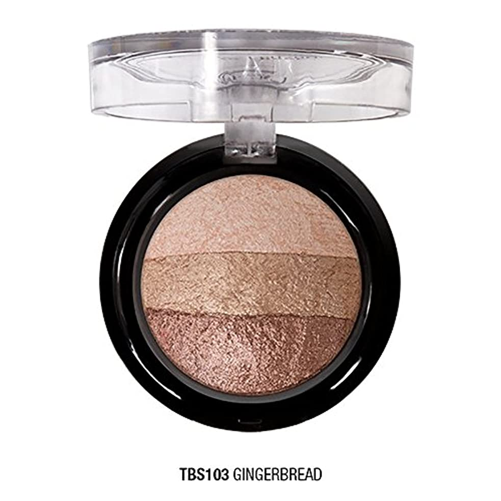成分宇宙船神秘的なJ. CAT BEAUTY Triple Crown Baked Shadow - Gingerbread (並行輸入品)