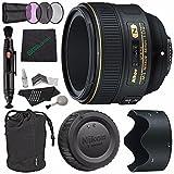 Nikon af-s Nikkor 58mm F / 1.4gレンズ+ 72Mm 3PieceフィルタセットUV、CPL、FL ) +マイクロファイバークリーニングクロス+レンズ..