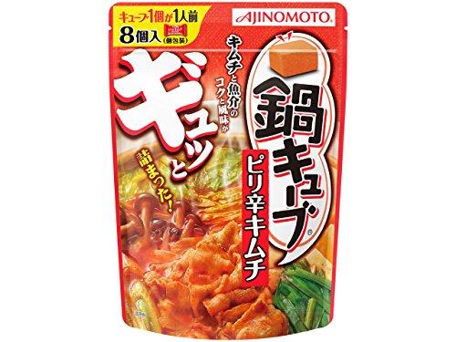 味の素 鍋キューブ ピリ辛キムチ 76g×3個...