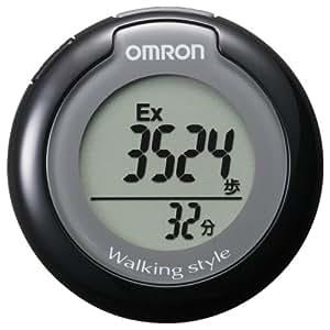 オムロン(OMRON) ヘルスケア オムロン(OMRON) ヘルスカウンタ ウォーキングスタイル ブラック HJ-151-K