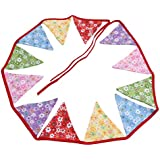 UCCU プレミアム 三角旗 三角バナー 三角ガーランド 三角フラッグ 飾り付け イベント 誕生日 お祝い パーティ 二次会 盛り上げ 可愛い 便利