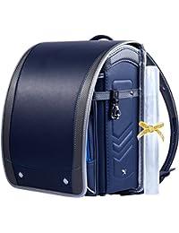 【Coulomb?クーロン?技術型】2018年度デザイン男の子向けランドセル school bag 6年品質保証付き (110 NB)