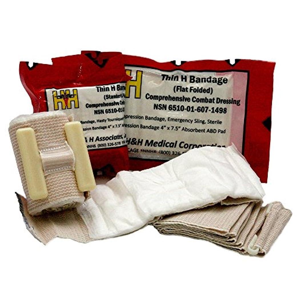ビバジャーナル地殻H&H 救急包帯 Hバンデージ 薄型 スタンダード HBT01
