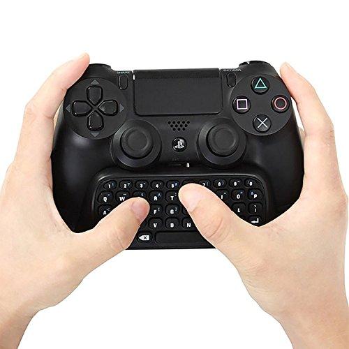 lifepower PS4 コントローラー用ワイヤレス キーボード PS4とPSvita一体型でチャットできる 接続簡単 DUALSHOCK 4 用無線キーボード 並行輸入品
