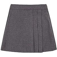 Rimi Hanger Girls School Uniform Box Pleated Elasticated Waist School Skirt Kids Skirt 2-12 Years