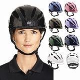 ERS 乗馬用 プロテージ ヘルメット ERS467716 (グラファイト, M/Lサイズ)