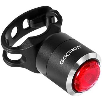 Gaciron(ガシロン) テールライト 自転車ライト スマートリアライト 自動点滅 USB充電 コンパクト ミニ IPX5防水 5ルーメン 200mAh