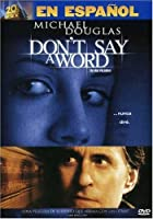 Don't Say a Word [DVD] [Import]