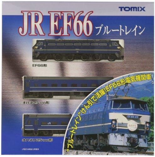 TOMIX Nゲージ 92332 EF66ブルートレインセット3両