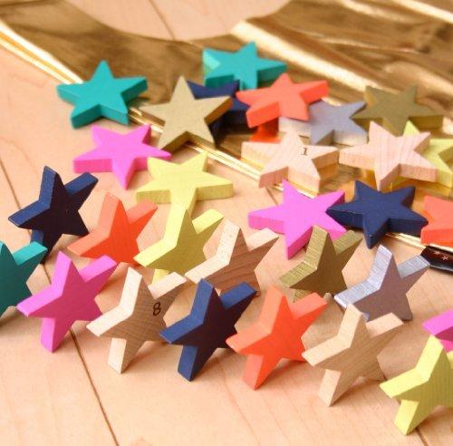 RoomClip商品情報 - kiko+ tanabata(キコ たなばた 七夕) 星形ドミノセット 木製 積み木 木のおもちゃ ドミノ倒し 出産祝いや誕生日プレゼントに!