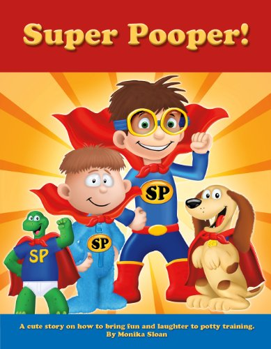 Super Pooper Book - Potty Training for Kids