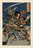 """ Great Samurai in Battle (キャンバス20x 30)"