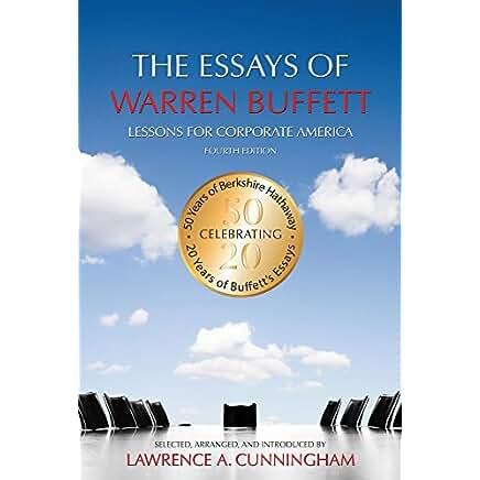 the essays of warren buffett by warren buffett