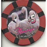 $ 5 Flamingo Hilton Swansラスベガスカジノチップ