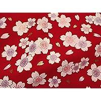 毛氈 (もうせん) 舞桜 幅90cm×長さ90cm