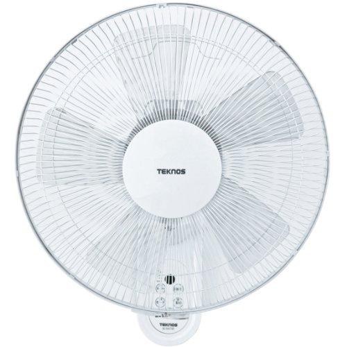 TEKNOS 40cm壁掛けフルリモコン扇風機 ホワイト KI-W478R