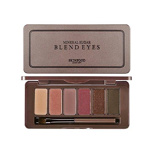 SKINFOOD Mineral Sugar Blend Eyes/スキンフード ミネラル シュガー ブレンド アイズ (#05 Mousse Au Plum Chocolat) [並行輸入品]