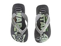 (ハワイアナス) Havaianas キッズサンダル・靴 Max Star Wars Flip Flops (Toddler/Little Kid/Big Kid) Black US 9 Toddler 14-15cm M [並行輸入品]