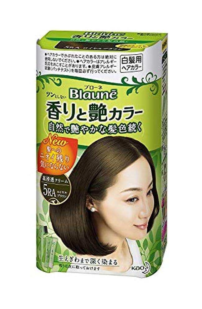 美的香水男【花王】ブローネ香りと艶カラークリーム 5RA 80g ×20個セット