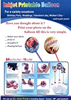 インクジェット印刷可能なバルーン 10-Ballons/8.5x12in