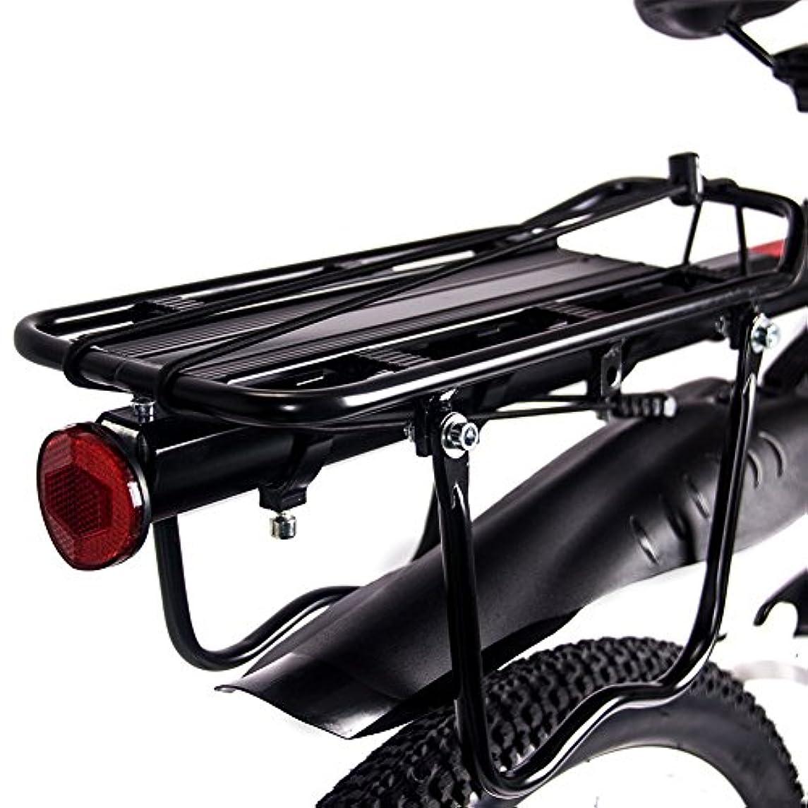 北へ素晴らしきマーティンルーサーキングジュニアRICH BIT TP860専用 リアキャリア 自転車荷台 ブラック