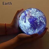 星空ナイトライトプラネットマジックプロジェクター地球宇宙LEDランプカラフルな回転点滅星キッズベビークリスマスギフト