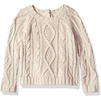 Crazy 8 Baby Girls Cable Sweater