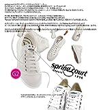 spring court(スプリングコート) G2 CLASSIC W CANVAS (G2 クラシック キャンバススニーカー) ホワイト(メンズ幅) 40(25.5~26.0cm)