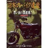 日本のバイク遺産シリーズ Part1 70年代編