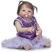 SanyDoll Rebornベビー人形ソフトSilicone 22インチ55 cm磁気Lovely Lifelike Cute Lovely Baby b0763lf8q1
