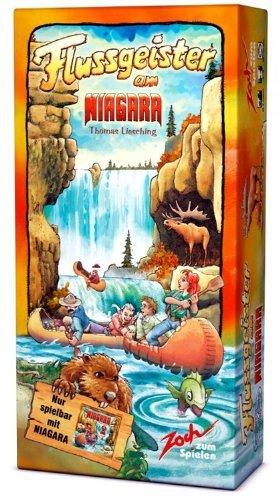 ナイアガラ拡張セット 川の精 (Niagara: Flussgeister am Niagara) [並行輸入品] ボードゲーム
