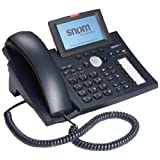 370 IP Phone - Cable - Black - 1 x Total Line - VoIP - Caller ID - Speakerphone - 2 x Network (RJ-45) by SNOM Technology [並行輸入品]