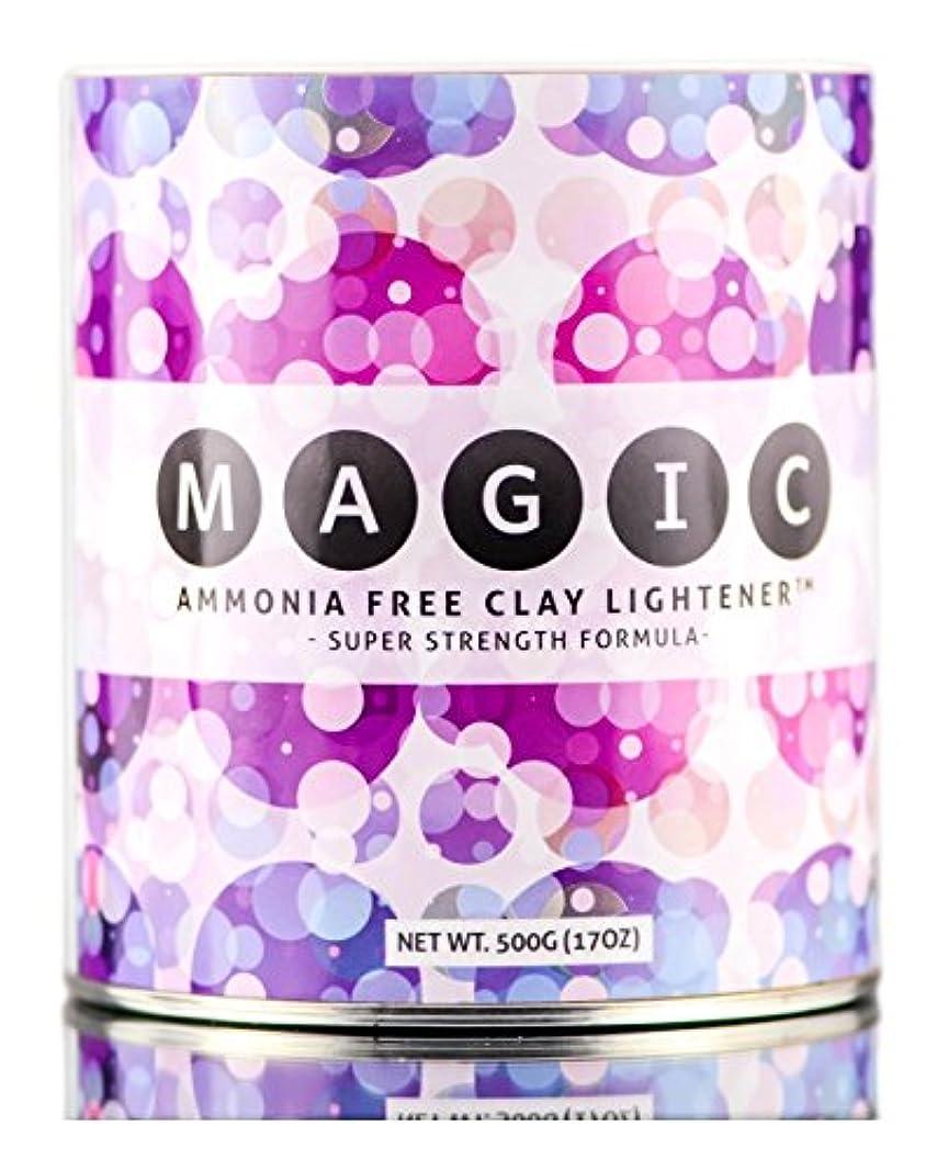 奨励貨物シネマMagic Lightener MAGICアンモニアフリーCLAYライトナー - スーパー強度式(500グラム/ 17オンス)