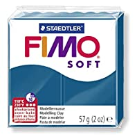 FIMOソフトトKalypso青57g,8020-31
