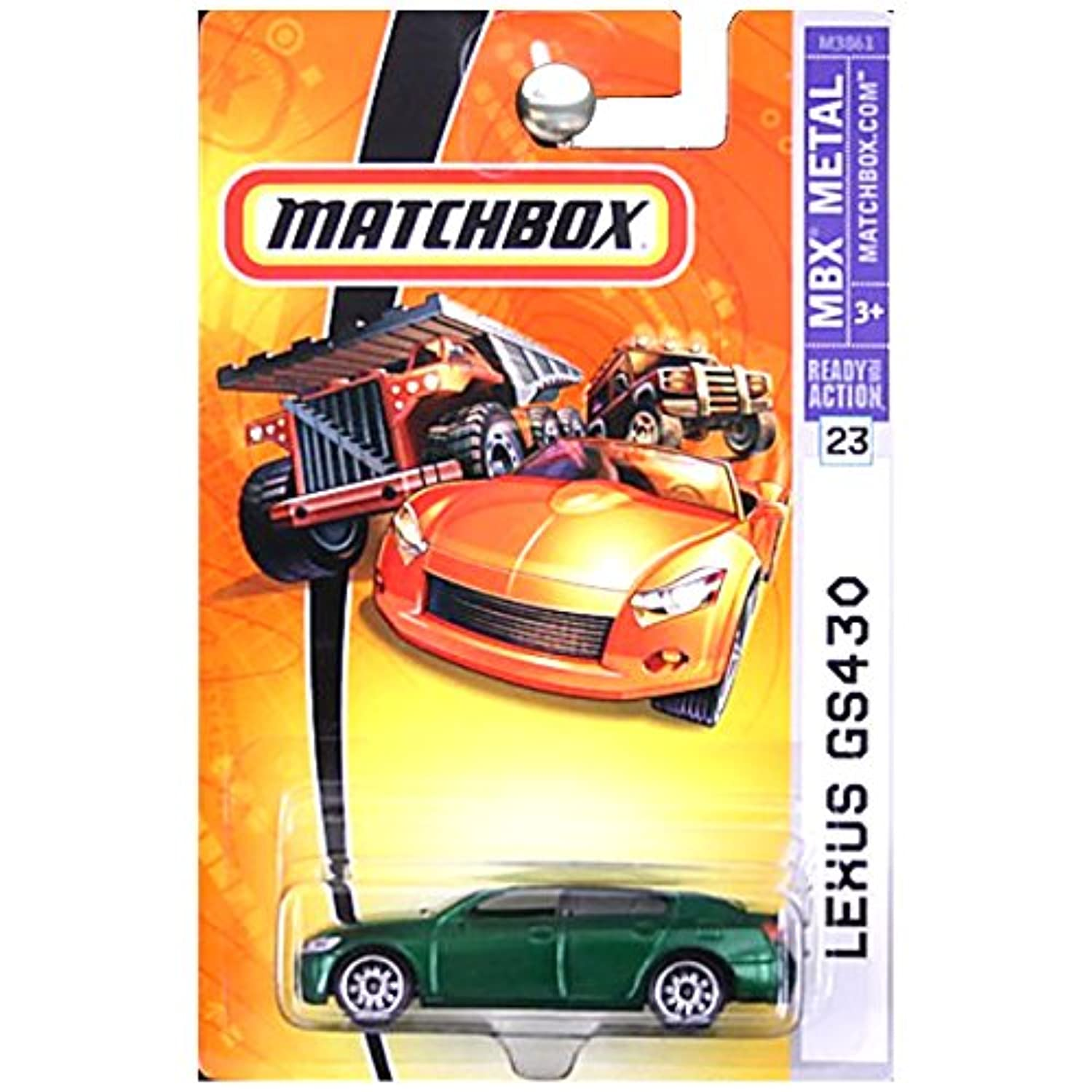 2007 Matchbox -#23 Lexus GS430 Green 55th Anniversary Limited Edition Collectibles Collector Car