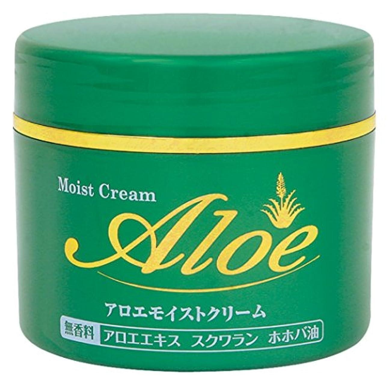 完全に乾く真面目な不明瞭アロエモイストクリーム 160g