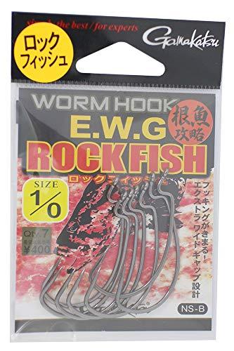 がまかつ(Gamakatsu) バラ ワームフック EWG ロックフィッシュ #1/0