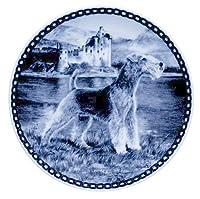 デンマーク製 ドッグ・プレート (犬の絵皿) 直輸入! Lakeland Terrier / レークランド・テリア