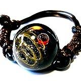 匠の技 神秘的な 宇宙 銀河 ガラス ブレスレット ブレス 太陽 惑星 メンズ レディース 015