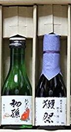 獺祭(だっさい) 二割三分 +八海山+初孫+梅一輪+奥の松 180ml 日本酒 飲み比べ 5本セット