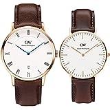 [ダニエルウェリントン]Daniel Wellington 腕時計 ペアウォッチ 0511DW 36mm 1103DW 38mm クラシック シンプル メンズ レディース [並行輸入品]