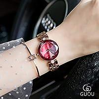 SJXIN 美しい時計 GUOUレディース腕時計ファッション2019クォーツ時計 (Color : 2)