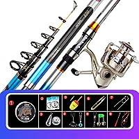 Fishing Rod - Ultra Lightスーパーハードマダイカーボンロングショットセット投げギア (サイズ さいず : 3.0m)