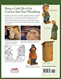 Whittling Country Folk: 12 Caricature Projects With Personality 画像