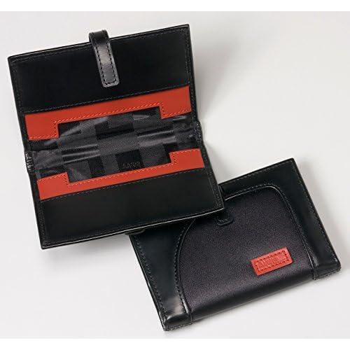 【アーロン・アーヴィン】 名刺入れ ナイロン Card Case with Tab AA-MCCT-BK(ブラック)