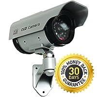 blindspotter Solar Poweredダミーフェイクカメラ/–best burglar Deterrent–Free e-book How to Improve Yourホームセキュリティ–セキュリティSign Included–Forインドア/アウトドア、モデル:、ツール&ハードウェアストア